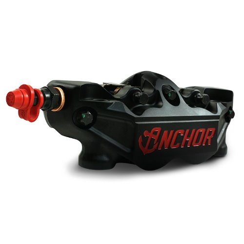 J2 ANCHOR RADIAL 4 PISTON FORGED CALIPER 프론트 좌/우 TMAX 15~20 [블랙] ANC36