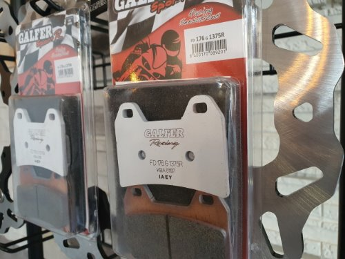 J2 GALFER KTM 790 ADVENTURE /R 19~20 SINTER SPORT RACING BRAKE PADS FRONT FD176G1375R
